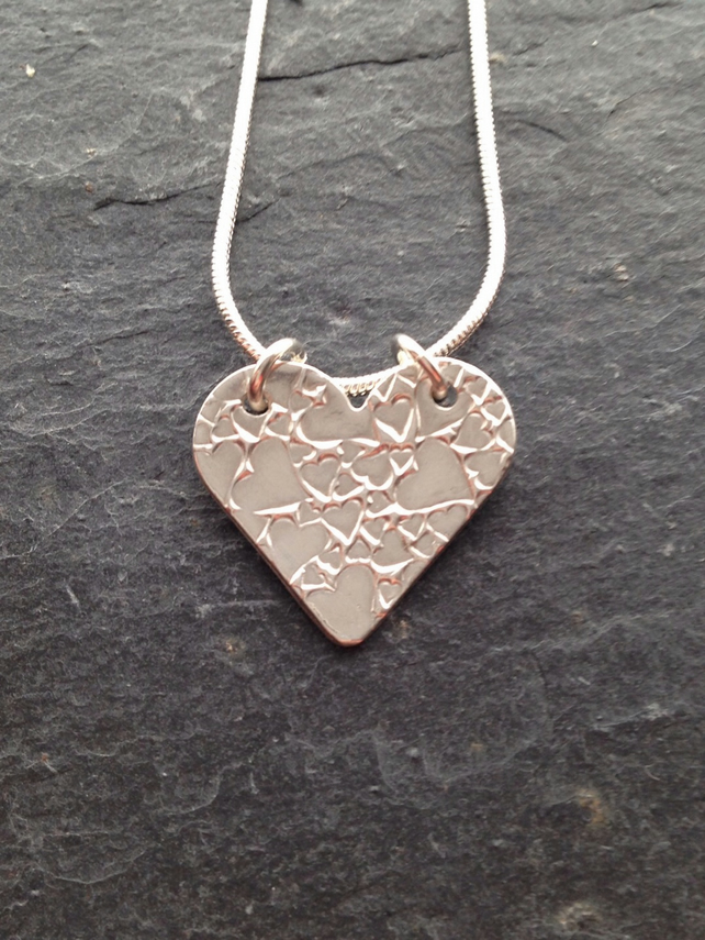 Heart of hearts pendant