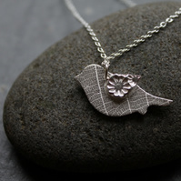 Natural bird pendant