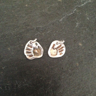 Personal touch hand or footprint charm or pendant - 1 of your loved ones prints