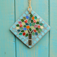 LIFE Summer Jewel Tree  Mosaic Hanging Garden Decoration