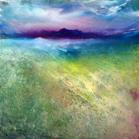 Hebridean Machair, Scottish island seascape print