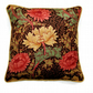 "Cushion cover vintage Sanderson William Morris ""Chrysanthemum "" mid 70s fabric"