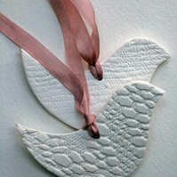 Lovebird - nursery decoration- christening gift - new baby- mothers day gift