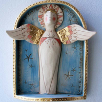 Angel wall Shrine