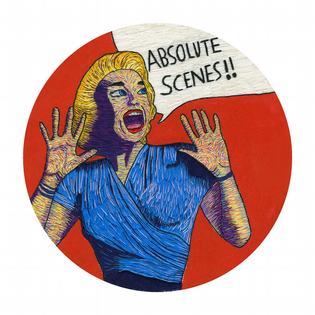Absolute Scenes Fine Art Limited Edition Signed Pop Art Print Hoop Art