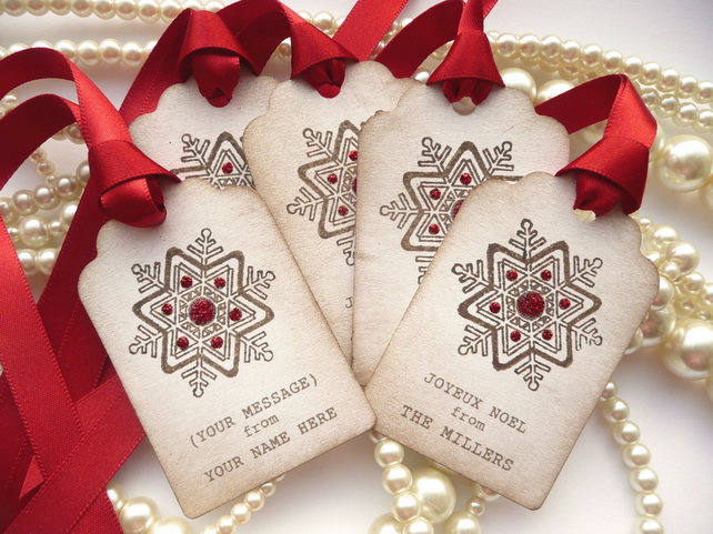Custom Christmas Gift Tags