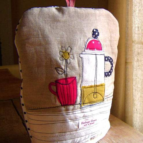 Spotty Cafetiere cosy