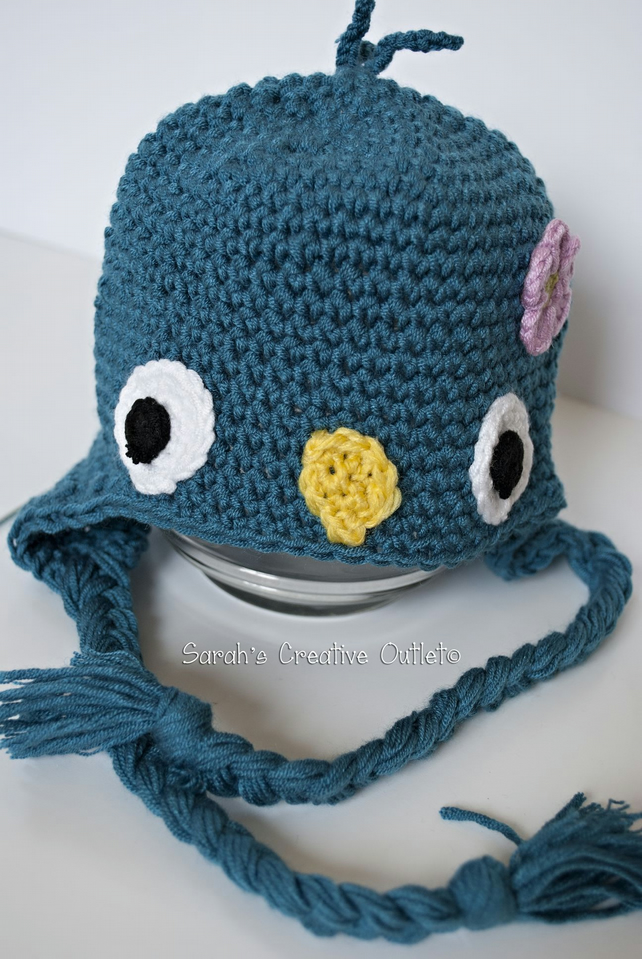 Little Blue Bird Hat