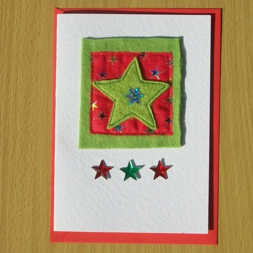 Christmas Card - star