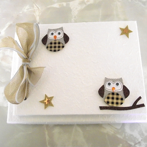 Personalised Mulberry Guest Book/Photo Album