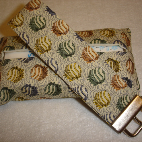 Fabric Key Fob & Tissue Cover Set