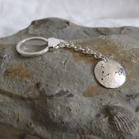 Silver Constellation keyring