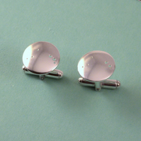 Silver Constellation Cufflinks: COMMISSION ORDER