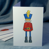 Christmas Card Pack - Nutcracker Toy Soldier