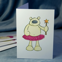 Christmas Card Pack - Fairy Polar Bear