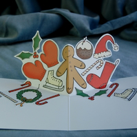 Christmas Pop Up Card - Festive Fun