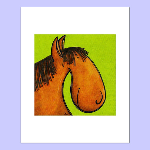 Print of Horse With No Name