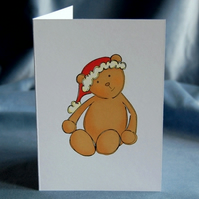 Christmas Card 4 Pack - Christmas Bear