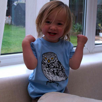 Kids Owl T Shirt
