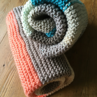 Striped Squishy Baby Blanket