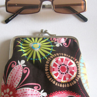 Funky Flowered Glasses case