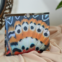 Wedding clutch bag - Butterfly wings clutch purse - Unique handmade Gift for her