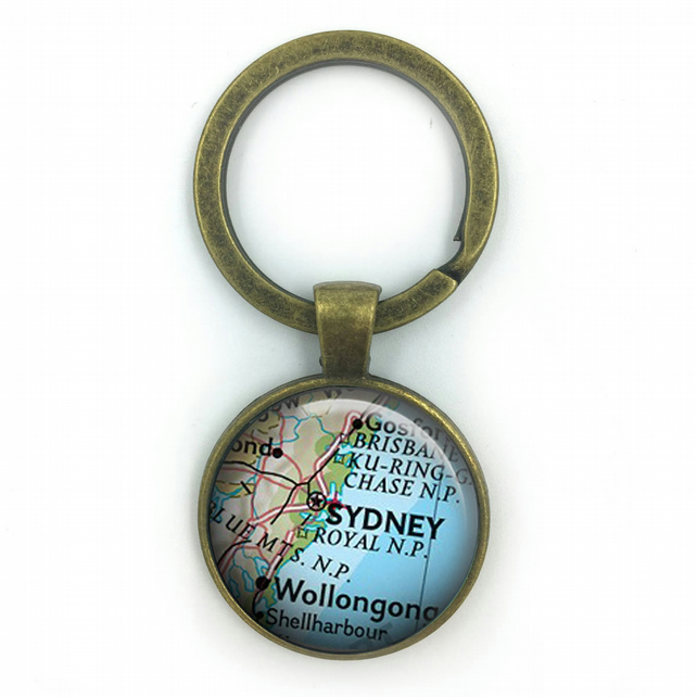 Personalised Maps, World Maps Keyring, Personalized Maps, wedding gift, annivers