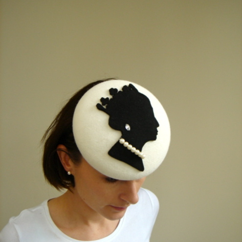 Queen Silhouette Hat