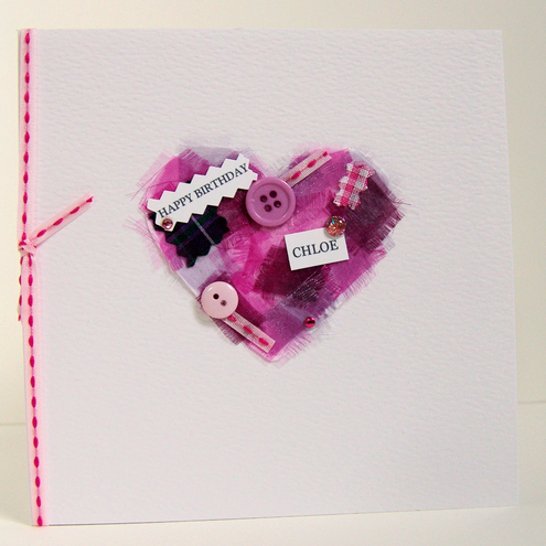 'Buttons & Bows' Greeting Card