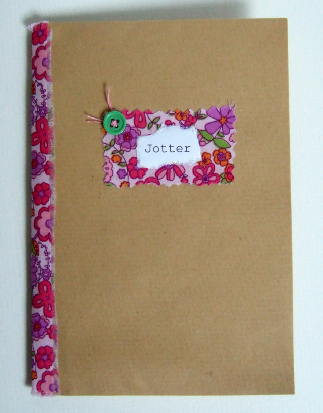 Handmade Envelope Notebook with Mini Envelope Pockets