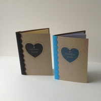 'Doodle & Jotter Love' Notebooks Set of two
