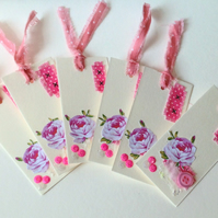 Collage Gift Tags,Handmade Gift Tags Pack of Six