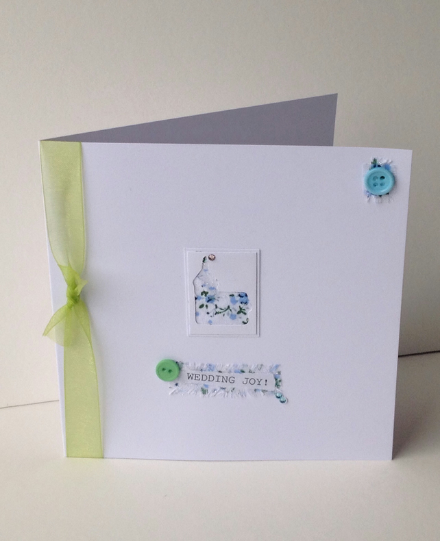 Greeting Card,Wedding,Handmade Can Be Personalised