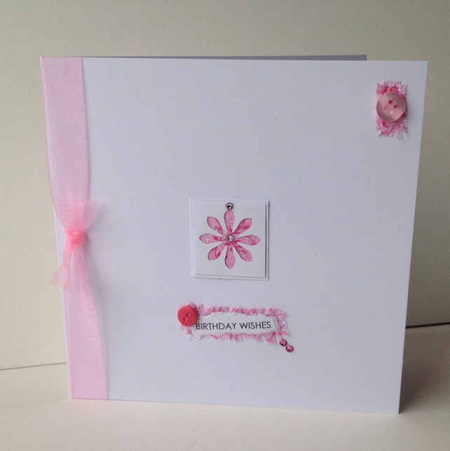 Greeting Card,Birthday,Handmade Can Be Personalised