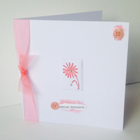 Greeting Card,Special Thoughts,Can Be Personalised,Handmade Card