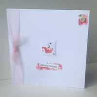Greeting Card,Birthday,Handmade Can Be Personalised.