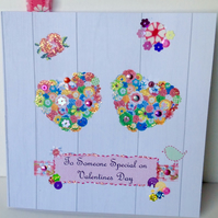 Valentine's Day,Wedding,Engagement,Anniversary,Card,Handmade,Personalised