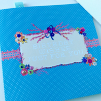 Birthday Card,Greeting Card,Personalised,Handmade,Handfinished