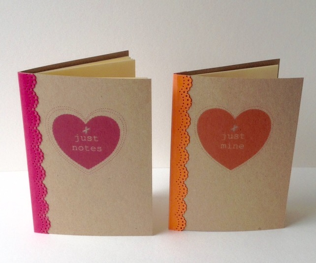 'Just Notebooks' - Set of two Handmade Notebooks