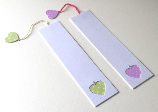 'Pastel Bookmarks' Pack of two