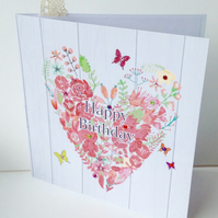 Birthday Card,Greeting Card,Handmade Can Be Personalised