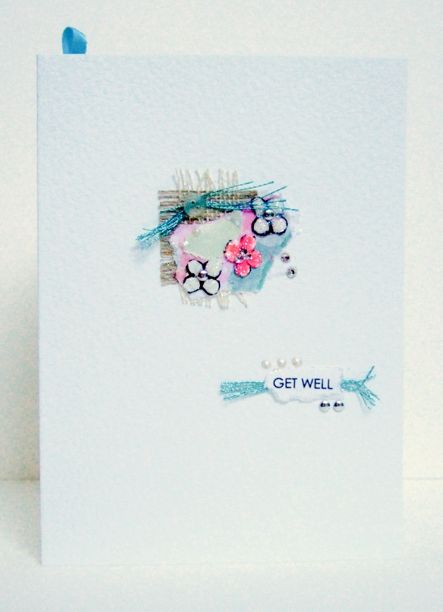 Collage Design Personalised Greeting Card