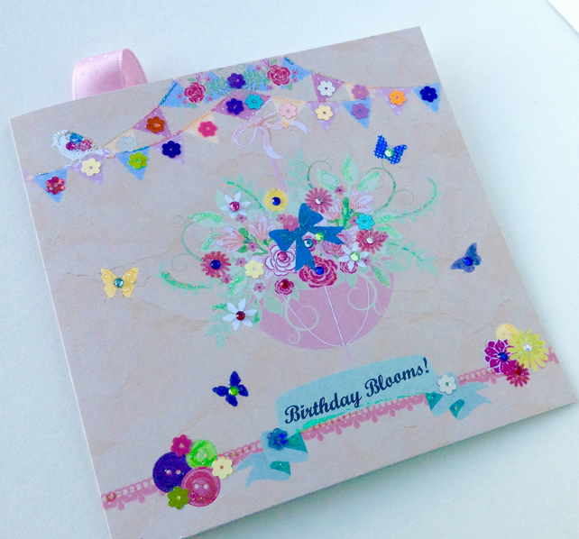 Birthday Card,Greeting Card,Can Be Personalised,Handmade.