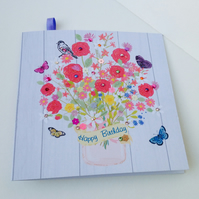 Birthday Card,Greeting Card,Handmade,Can Be Personalised.