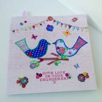 Engagement Card,Greeting Card,Handmade,Can Be Personalised