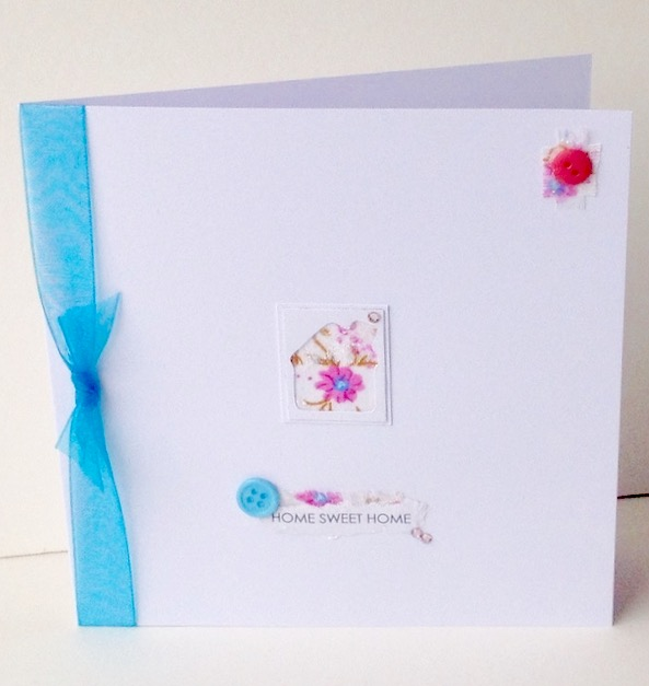 Greeting Card,New Home,Handmade Can Be Personalised