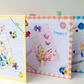 Easter Cards Three PK,Vintage Childhood Easter Card Set,Personalised,Handmade