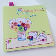 Birthday Card,Greeting Card,Handmade,Can Be Personalised