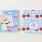 Mini Notebooks, Set of Two,Handmade Sticky Notebooks,Can Be Personalised