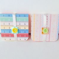 Mini Notebooks,Set of Two,Handmade Sticky Notebooks,Can Be Personalised